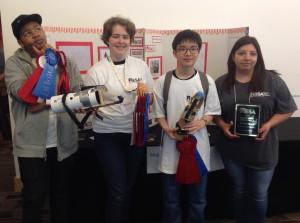 7 Winning team Prosthetic Arm