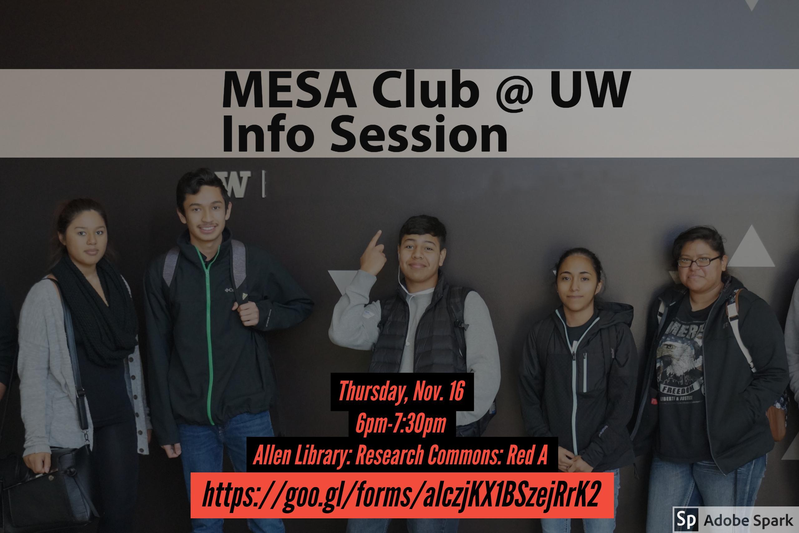 MESA Club @ UW-Seattle